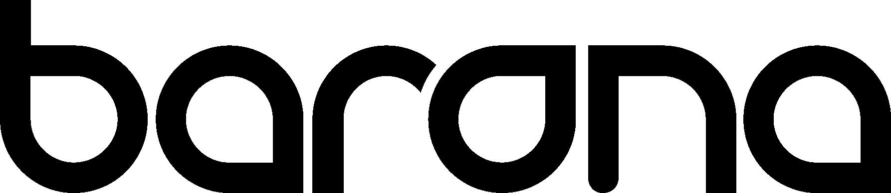 Barona Logo RGB black